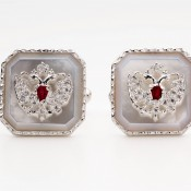 Romanov Cufflinks-Mother of pearl